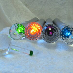 The Crystal Sphere with Element Color Rod