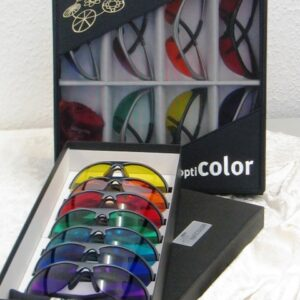 Set of 7 optiCOLORvision Glasses